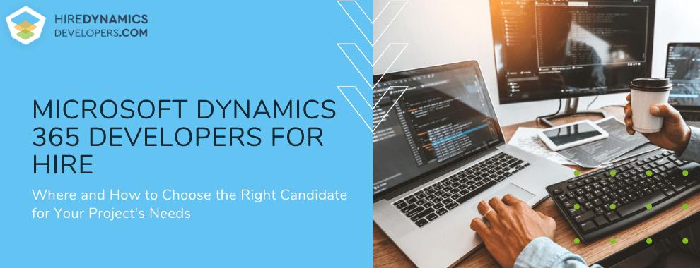 dynamics 365 developer for hire