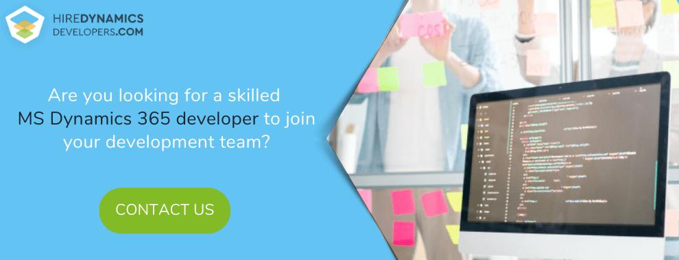 hire dynamics 365 software developer ukraine